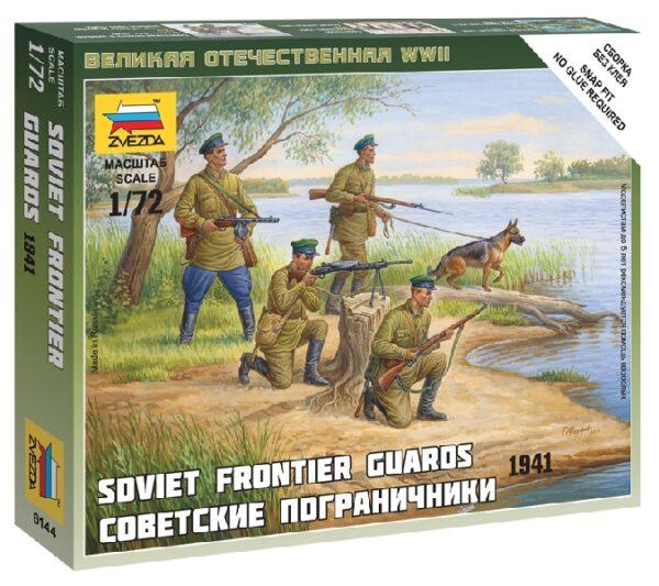 ZVEZDA 6144 Sov.Frontier Guards