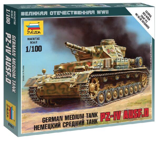 ZVEZDA 6151 Pz Iv Ausf.D