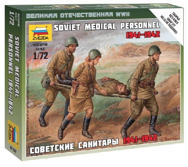 ZVEZDA 6152 Soviet Medical Personnel 41-42