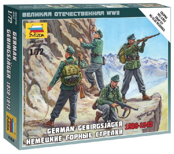 ZVEZDA 6154 German Gebirgsjäger