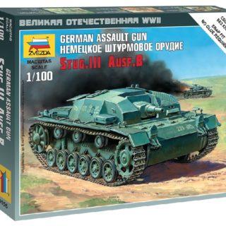 ZVEZDA 6155 Sturmgeschütz Iii Ausf.B