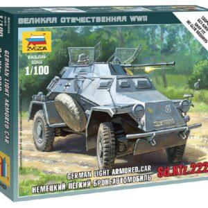 ZVEZDA 6157 Sd.Kfz.222 Armored Car