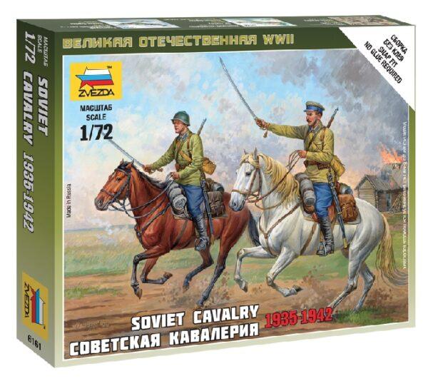 ZVEZDA 6161 Soviet Cavalry