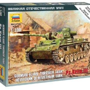 ZVEZDA 6162 Panzer Iii Flamethrower Tank