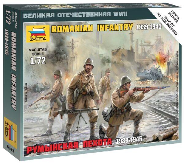 ZVEZDA 6163 Romanian Infantry