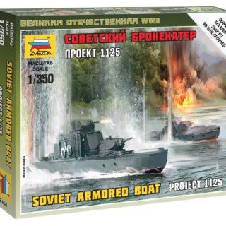 ZVEZDA 6164 Sov.Armored Boat Modellismo