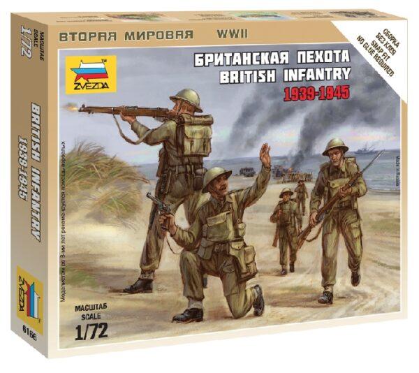 ZVEZDA 6166 British Infantry 1939-42