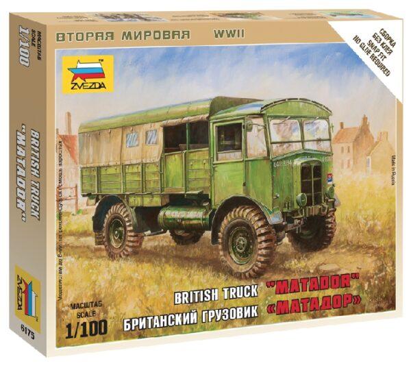 "ZVEZDA 6175 British Truck ""Matador"""