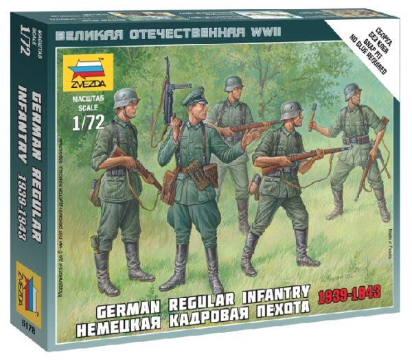 ZVEZDA 6178 Ger.Regular Infantry 1939-43