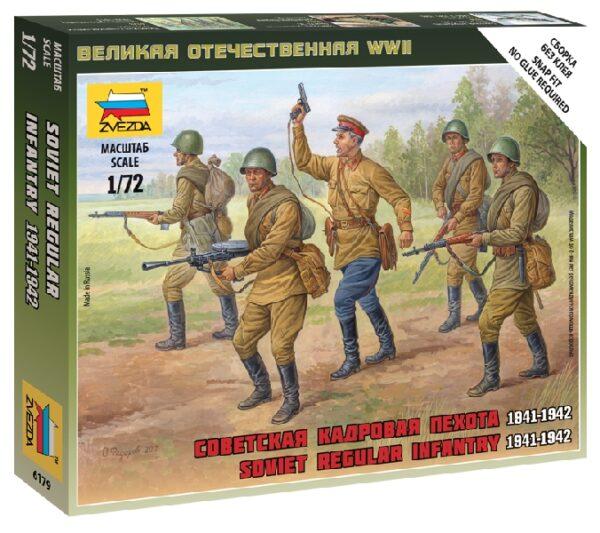 ZVEZDA 6179 Soviet Regular Infantry 1941-42