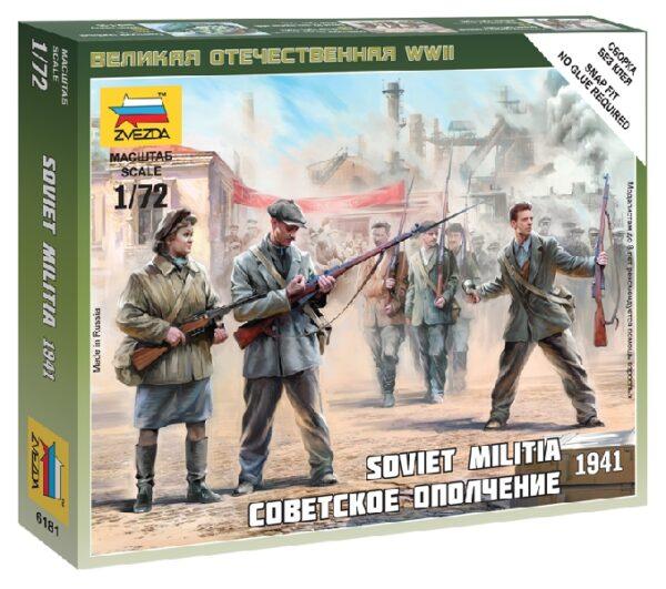 ZVEZDA 6181 Soviet Militia 1941