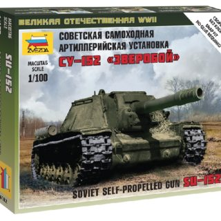 Zvezda 6182 SELF PROP. GUN SU-152