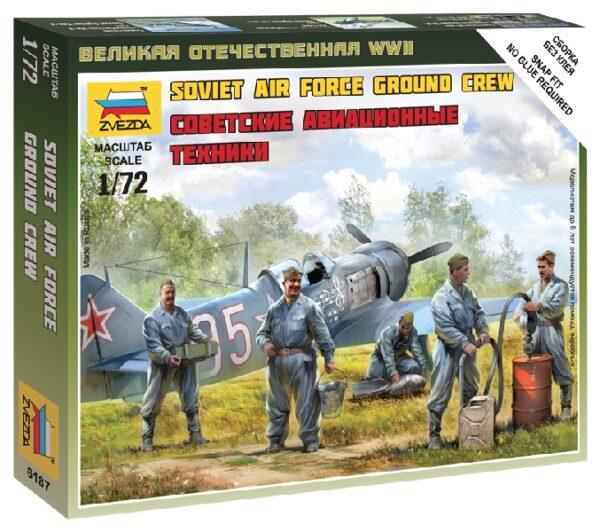 ZVEZDA 6187 Soviet Airforce Ground Crew