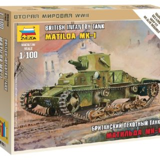 "ZVEZDA 6191 British Light Tank ""Matilda Mk I"""