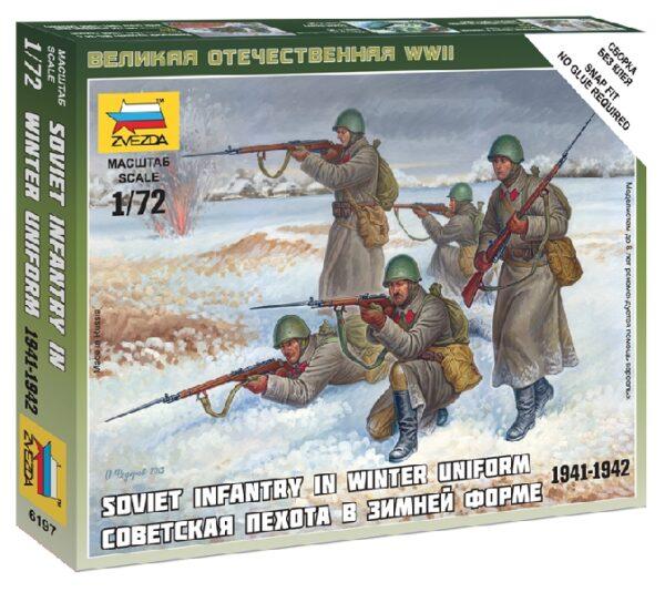 ZVEZDA 6197 Soviet Infantry (Winter Uniform)