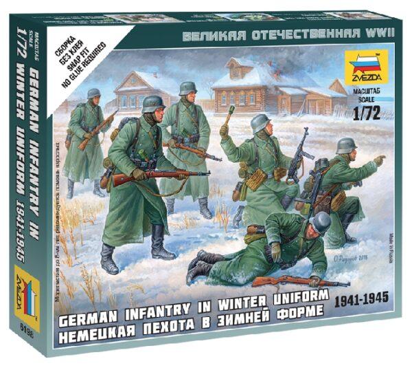 ZVEZDA 6198 German Infantry (Winter Uniform)