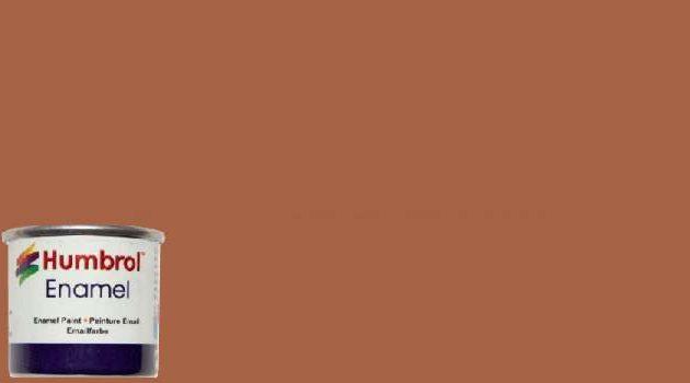 Humbrol Smalto sintetico cuoio opaco 62 Modellismo