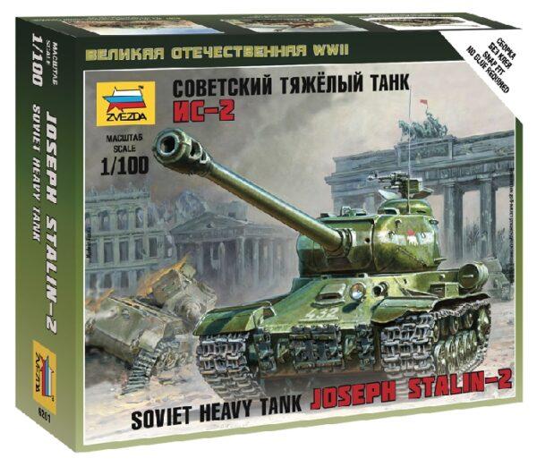 Zvezda 6201 IS-2 HEAVY SOVIET TANK WWII