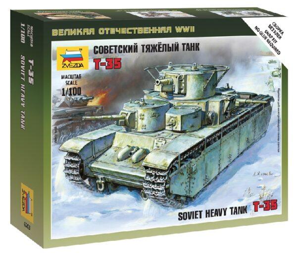 ZVEZDA 6203 Soviet Tank T-35