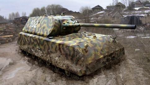 Zvezda 6213 MAUS German Super Heavy Tank