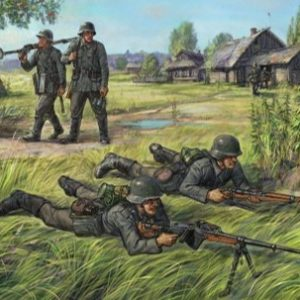 Zvezda 6216 German Anti Tank Rifle Team