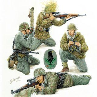 Zvezda 6217 German Sniper Team