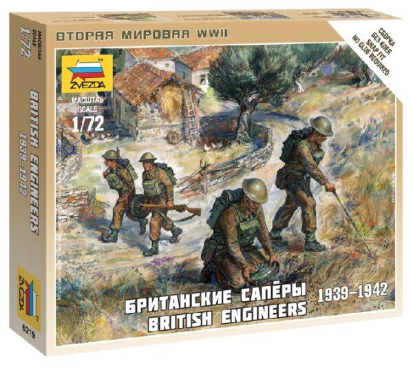 ZVEZDA 6219 British Engineers