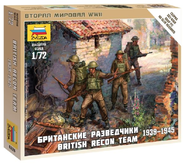 ZVEZDA 6226 British Recon Team