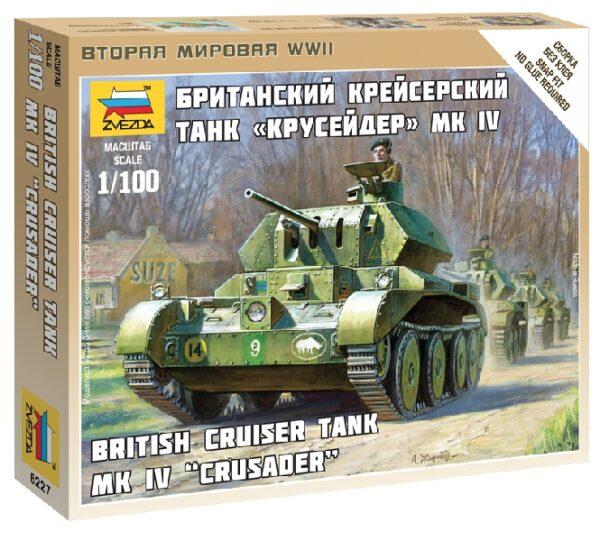 ZVEZDA 6227 British Tank Crusader Iv