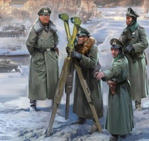 Zvezda 6232 GERMAN HQ WINTER