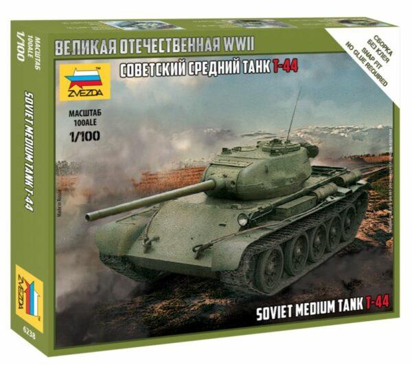 Zvezda 6238 T-44 Soviet Tank