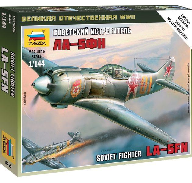 ZVEZDA 6255 La-5 Soviet Fighter NUOVO STAMPO