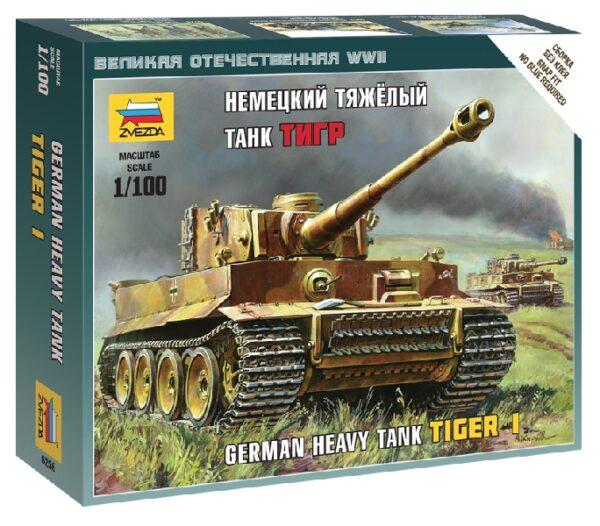ZVEZDA 6256 Tiger I German Heavy Tank