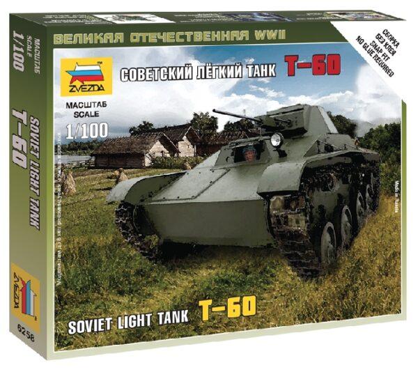 ZVEZDA 6258 T-60 Soviet Light Tank