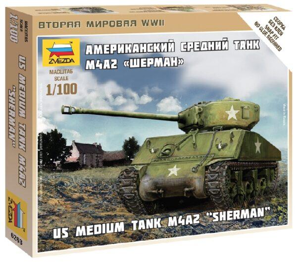 ZVEZDA 6263 Sherman M-4