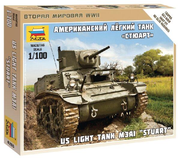 ZVEZDA 6265 Stuart Us-Tank