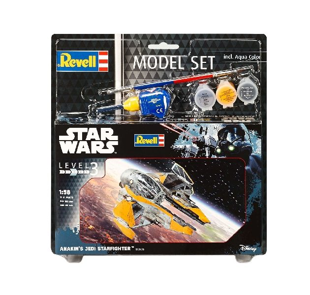 Revell 63606 1/58 MODEL SET ANAKIN'S JEDI STAR FIGHTER Modellismo