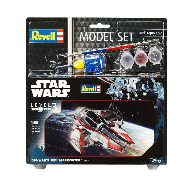 Revell 63607 1/58 MODEL SET OBI-WAN'S JEDI STAR FIGHTE Modellismo