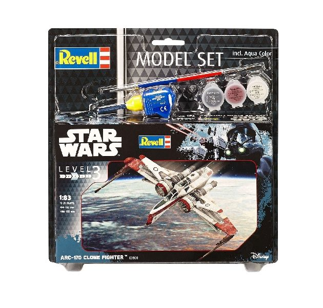 Revell 63608 1/83 MODEL SET ARC-170 FIGHTER Modellismo