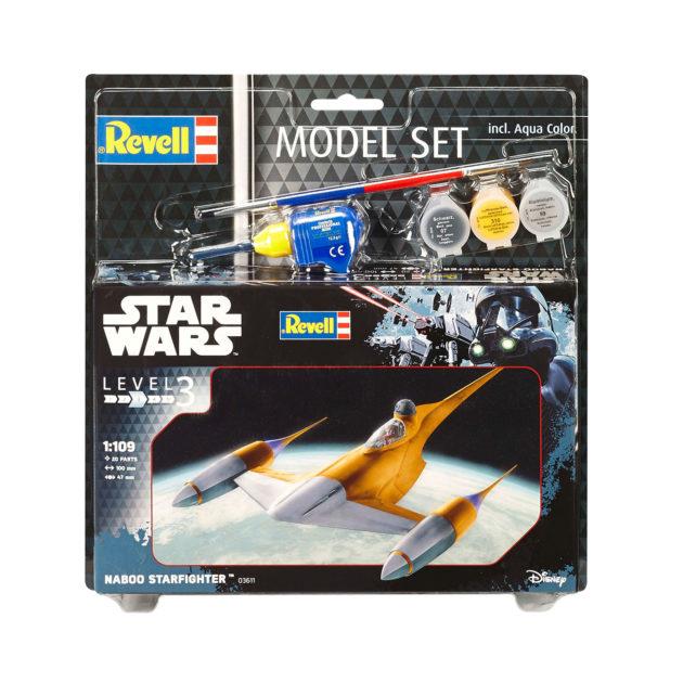 Revell 63611 1/109 MODEL SET NABOO STARFIGHTER Modellismo