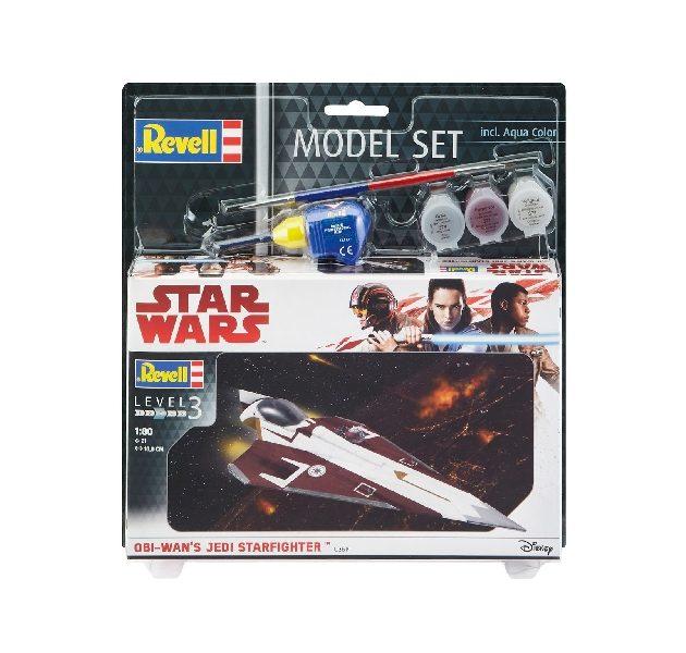 Revell 63614 1/80 MODEL SET OBI WAN'S JEDI STARFIGHTER Modellismo