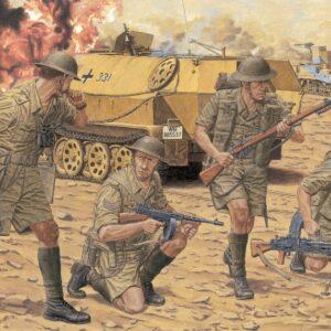 DRAGON 6390 British 8th Army Infantry (El Alamein 194 Modellismo