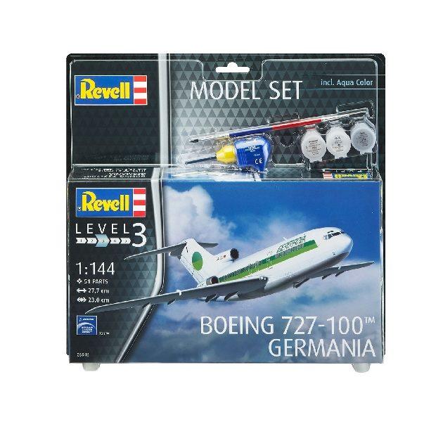 Revell 63946 MODEL SET BOEING 727-100 GERMANIA