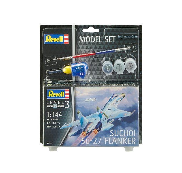 Revell 63948 MODEL SET SUCHOI SU-27 FLANKER