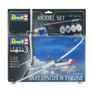 Revell 63961 MODEL SET GLIDERPLANE DUO DISCUS & ENGINE