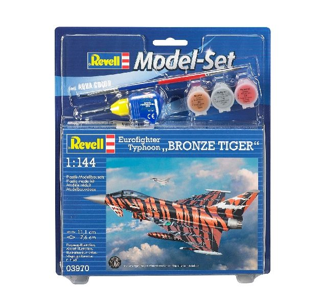 Revell 63970 Model Set Eurofighter Bronze Tiger - incl