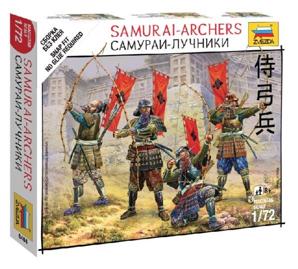 ZVEZDA 6404 Samurai - Archers