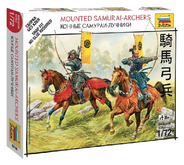 ZVEZDA 6416  Mounted Samurai Archers