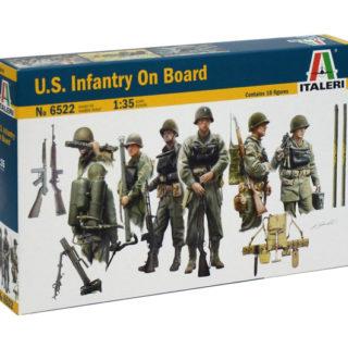 ITALERI 6522 U.S. Infantry on Board - include 10 figure