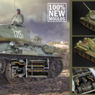 Italeri 6545 Carro armato T 34-85